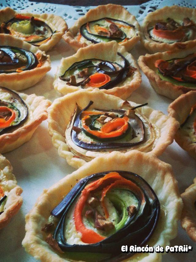 Tartaletas de verduras