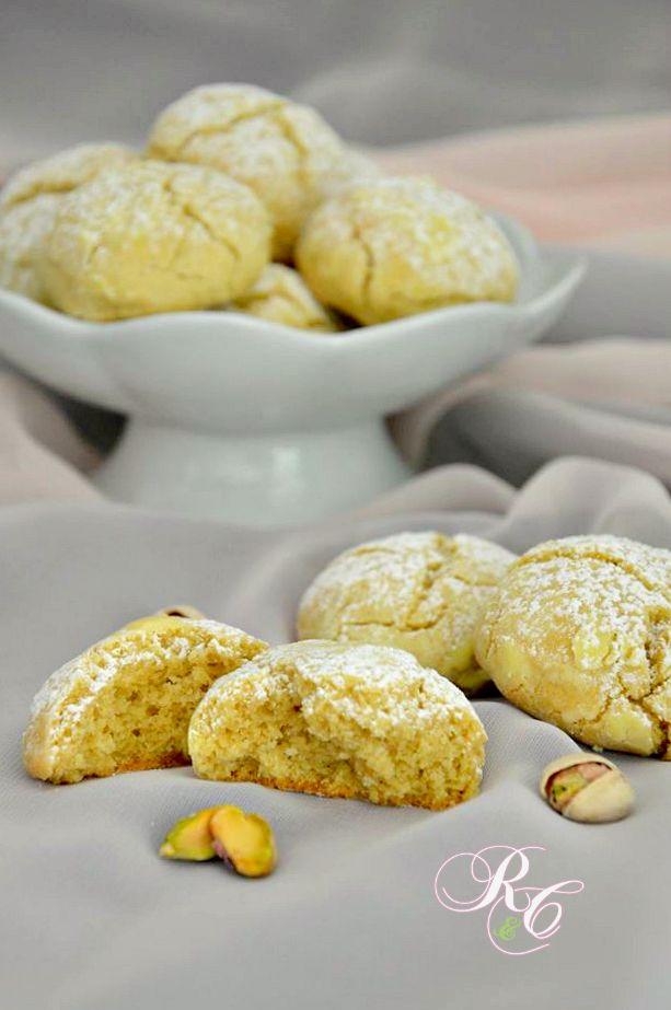 Biscotti morbidi al pistacchio