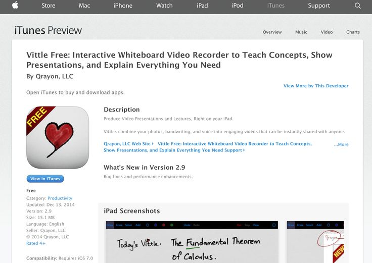 Vittle: Interactive Whiteboard Video Recorder to Teach Concepts, Show Presentations, and Explain Everything You Need