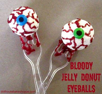 Donut Hole Eyeballs Food Network