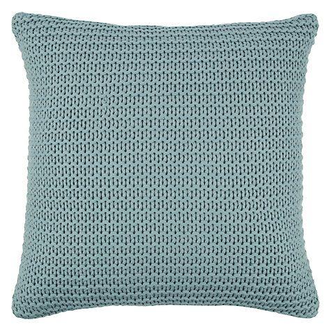 Buy John Lewis Chunky Knit Cushion Online at johnlewis.com