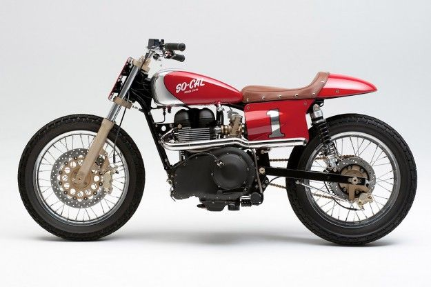 Building a cafe racer: Streetmaster A how to on cafe racer building ... Although this is a flat tracker from SoCal speed shop