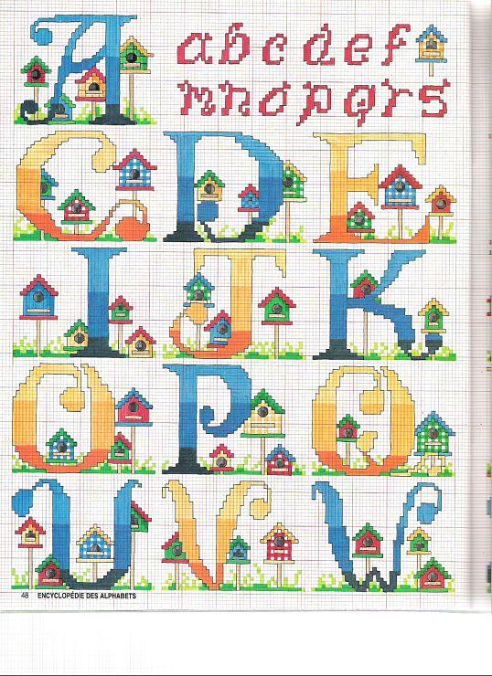 Alfabeto casitas parte 1