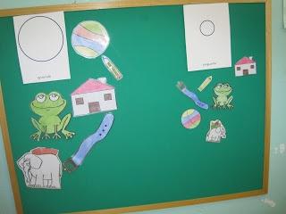 Franelograma para trabajar conceptos, cuentos,  ... de manera manipulativa  http://teayudoacomunicarte.blogspot.com
