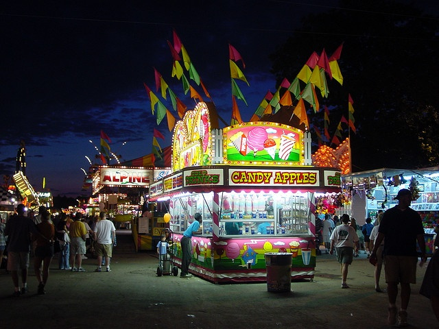 Opening day for Ontario County Fair