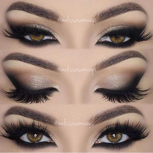 this is such a sexy and smoldering look! This would be gorgeous with navy