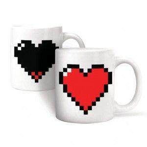 Taza Corazón Pixelado / Pixel Heart Morph Mug · Tienda de Regalos originales UniversOriginal