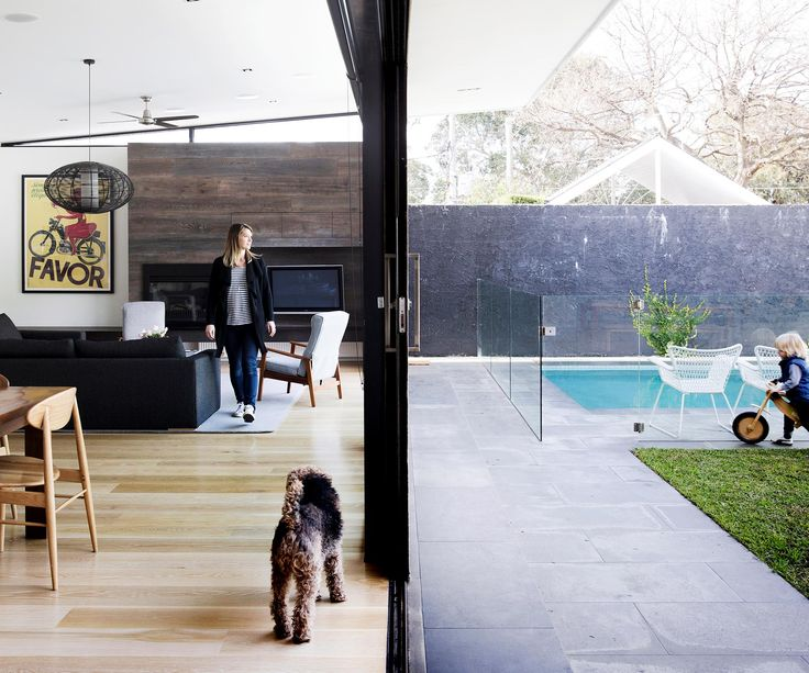 Contemporary style and a light-filled layout turns a renovator's delight into a delightful family home.