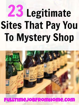 Here's 23 Scam Free Sites That Will Actually Pay You To Mystery Shop! All are Free To Join and you can even use your phone for some!