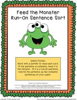how to get rid of run on sentences