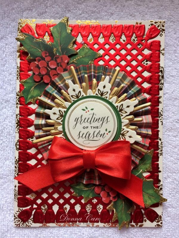 Bright red cheer in 2020 Anna griffin christmas cards
