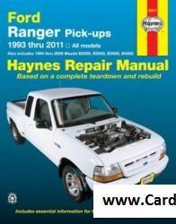 Free download Ford Ranger and Mazda Pick-ups Haynes Repair Manual PDF scr1