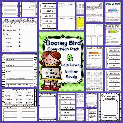 Gooney Bird Greene Activities