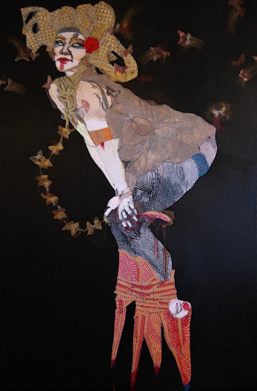ELENA MONZO  Ginko Biloba chain, 2012