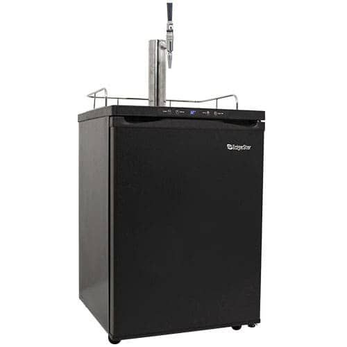 EdgeStar KC3000CAFE 24 Inch Wide Cold Brew Coffee Dispenser with Digital Display (Stainless Steel), Grey