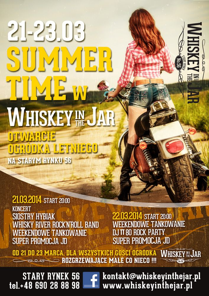 SUMMER TIME w Whiskey in the Jar!
