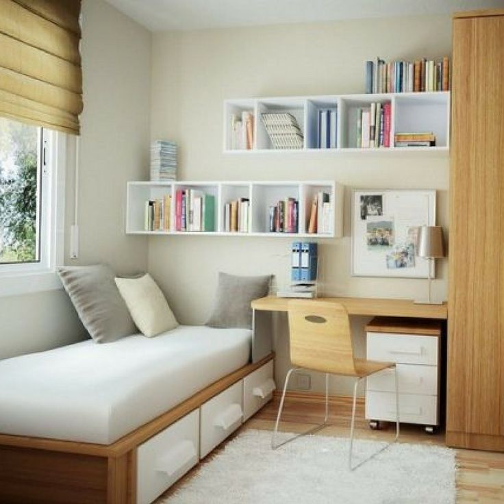 Does your teen love a simple, modern and no fuss bedroom? Then something like this could be perfect for them.