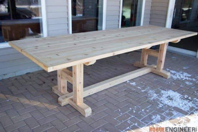 Best 30 Wood Table Diy To Get Started Farmhouse Table Plans Diy