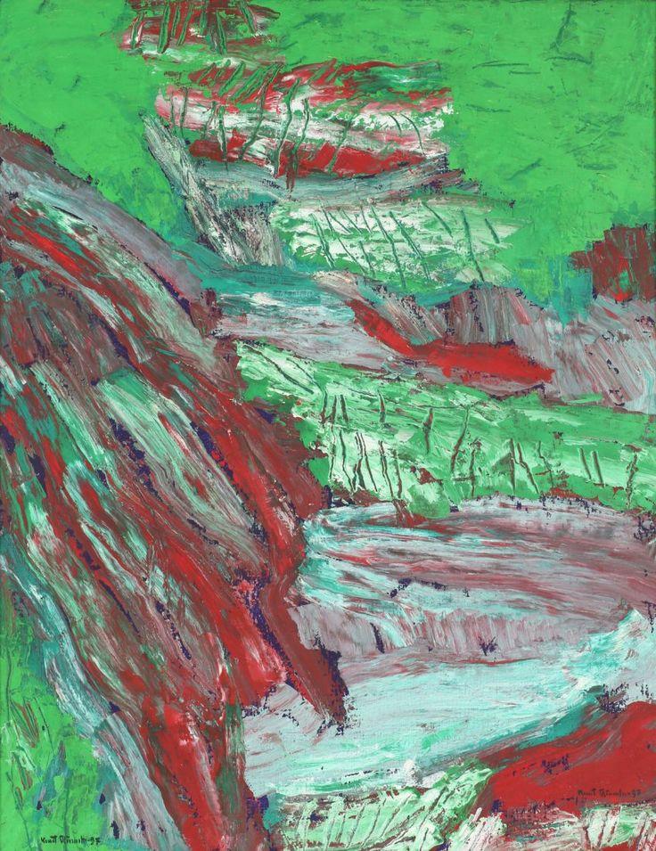 Thunderstruck (Knut Rumohr (Norwegian, 1916-2002), Landskap,...)