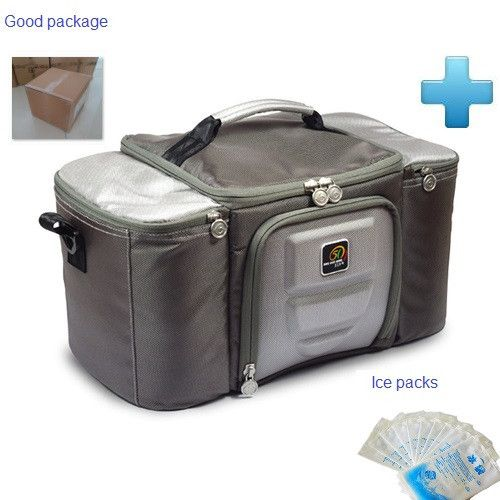 Super Large Size 30L Thermal Bag Genuine Famous Brand Car Lunch Cooler Bag Refrigerator Bolsa Termica with 8 ice packs