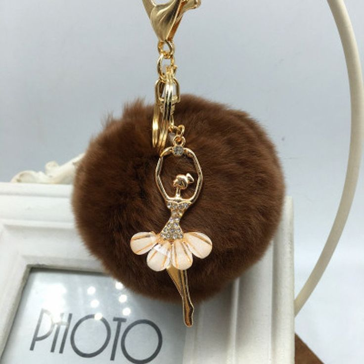 Plush Ballerina keychain