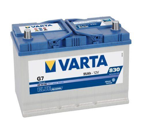 VARTA – BATTERIE VARTA BLUE DYNAMIC G7: Spécification 12v 95ah 830CCA Type de Borne – A Disposition –Positif Droite  Dimensions Longueur…