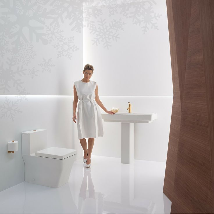 The Soft Matte Finish Brings Warmth To Any Bathroom Space. Reve Toilet And  Pedestal Sink With Purist Faucet And Accessories From Kohler