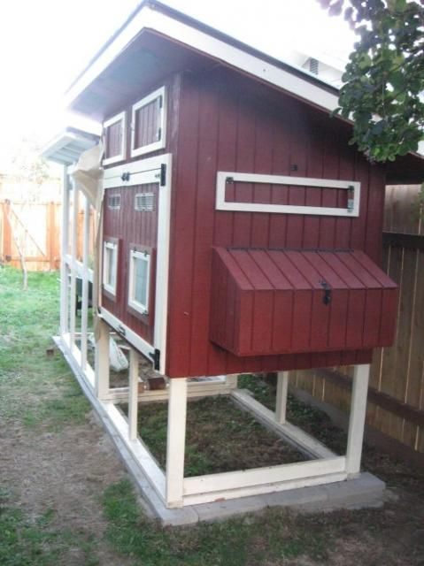 87 best images about chicken coops on pinterest the for Red chicken coop