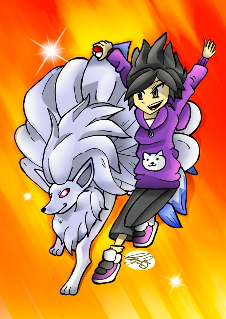 Game and Shiny Ninetales by Ccjay25.deviantart.com on @DeviantArt