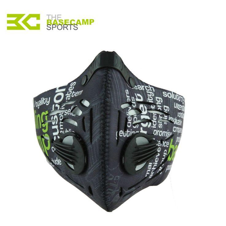 Basecamp Cycling Masker Olahraga Jogging Kebugaran Pelatihan Masker Debu Masker Mens Motorcycle Air Filter Masker Setengah Wajah Sepeda
