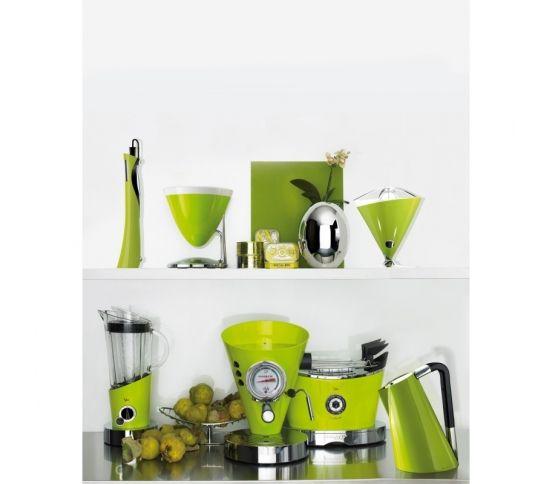 Casa Bugatti Diva - Ekspres ciśnieniowy do kawy, toster, czajnik, blender nowoczesna kuchnia