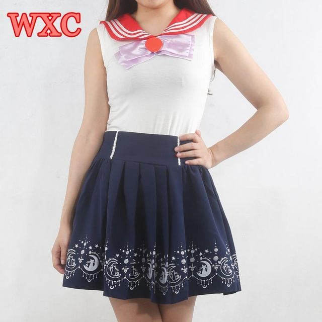 Sailor Moon Ropa Kawaii De Anime Anzug Cosplay Schulmädchen-uniform Harajuku Japanischen Nette Kleidung Lolita WXC