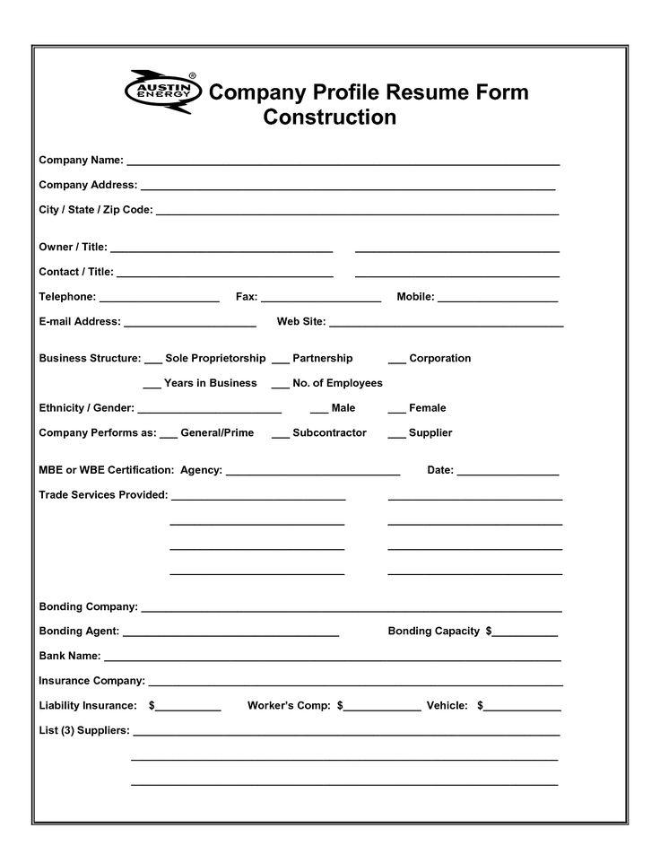 mml;Company Profile Template Word Format Free Download Invitation