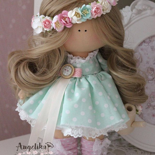 #текстильнаякукла #шитье #творчество #doll #dolls