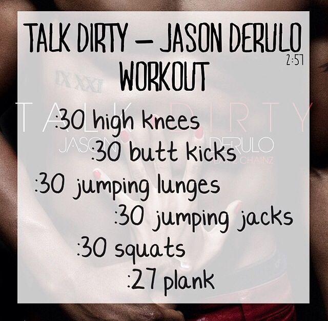 Talk Dirty - Jason Derulo https://www.youtube.com/watch?v=RbtPXFlZlHgfeature=kp