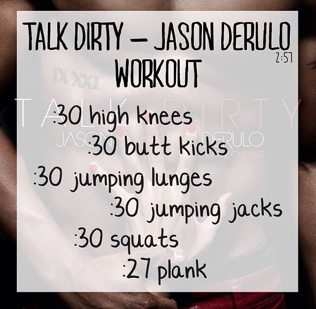 Talk Dirty - Jason Derulo https://www.youtube.com/watch?v=RbtPXFlZlHgfeature=kp