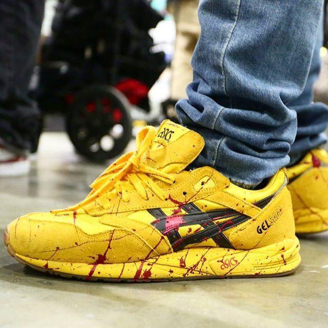 asics amarillas kill