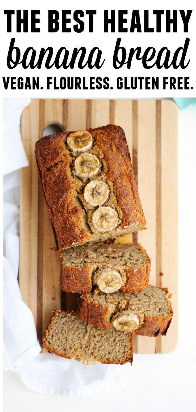 The Best Vegan Oat Flour Banana Bread Rhubarbarians Recipe Vegan Banana Bread Recipe Vegan Banana Bread Healthy Banana Bread