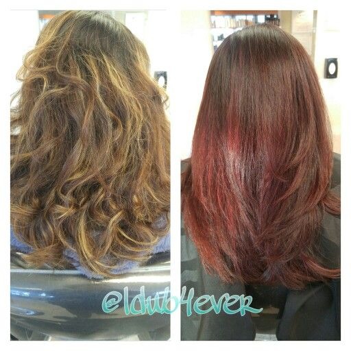 Red Velvet Redken Color Gels 4rv And Shades Eq 05rv And