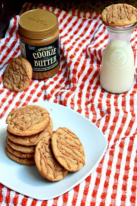 Cookie Butter Cookies {Fabtastic Eats} - My only issue was that they were very moist (which isn't always an issue haha) maybe cook longer next time or a lil less butter?