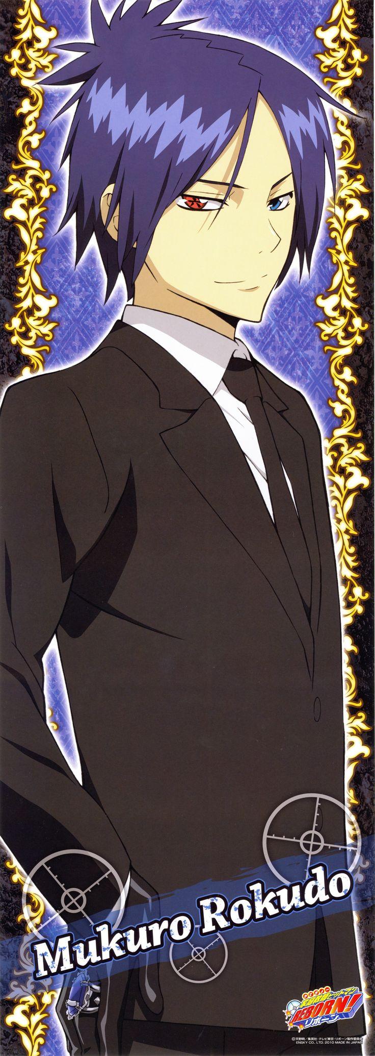 Rokudo mukuro , eu não sei por que eu amo tanto vc pena q vc não existe . Desculpe mas que se foda a Crhome Dokuro
