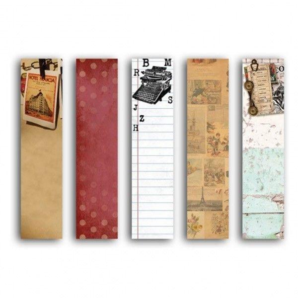 100 Sticky notes sur le thème vintage 8 x 2 cm pour décorer un scrapbooking ou un album photo. Achetez vite ! Livraison 48h - Youdoit.fr