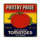 Tomatoes Steel Sign - Contemporary - Novelty Signs - by The Vintage Sign Store