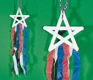 4th of July wind star - from Highlights for Kids