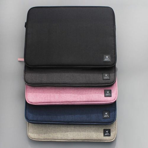 Think about W simple 13 inches laptop pouch