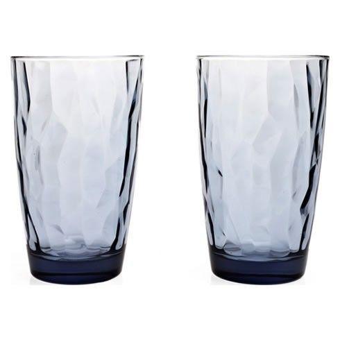 Σετ ποτήρια χυμού- νερού 6 τεμαχίων διάφανα, από φυσητό γυαλί, χρώμα μπλε, ιταλικής κατασκευής του οίκου Bormioli. Ποτήρια με κομψό και μοντέρνο σχεδιασμό που ξεχωρίζει για τη διαύγεια του