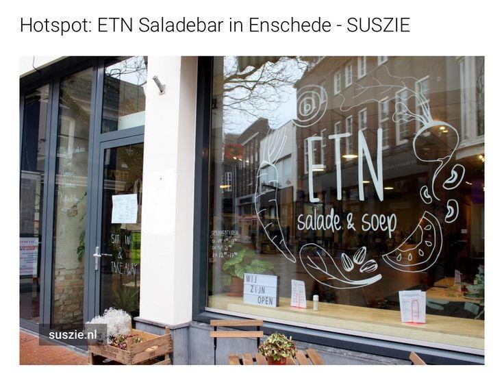 Hotspot alert! Afgelopen vrijdag ging ik voor het eerst langs bij #ETNsaladebar en ik kan niet wachten om nog eens terug te gaan. #Haverstraatpassage #Enschede    http://suszie.nl/hotspot-etn-saladebar/
