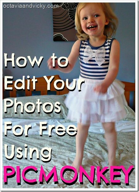 How to edit your photos for free with PicMonkey