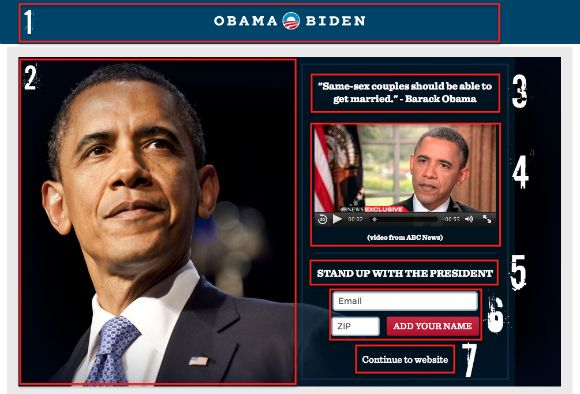 7 Things To Consider Copying From Barack Obama's Homepage