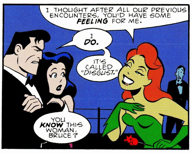 "comicbookvault: ""ADVENTURES IN THE DC UNIVERSE #3 (June 1997) Art by Bruce Timm & Mark Chiarello Words by Paul Dini "" Poison Ivy - Pamela Isley"